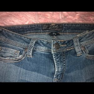 ❣️ Like NEW Silver jeans❣️